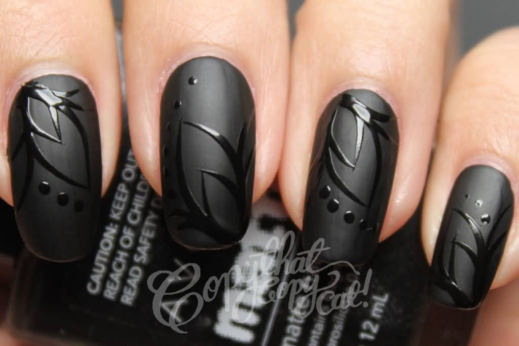 Beautiful Black Nail Art Designs To Try Out Right Now Nicestyles