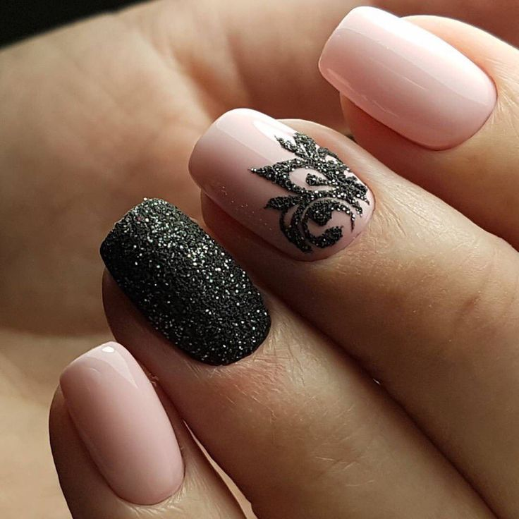 Beautiful Black Nail Art Designs To Try Out Right Now