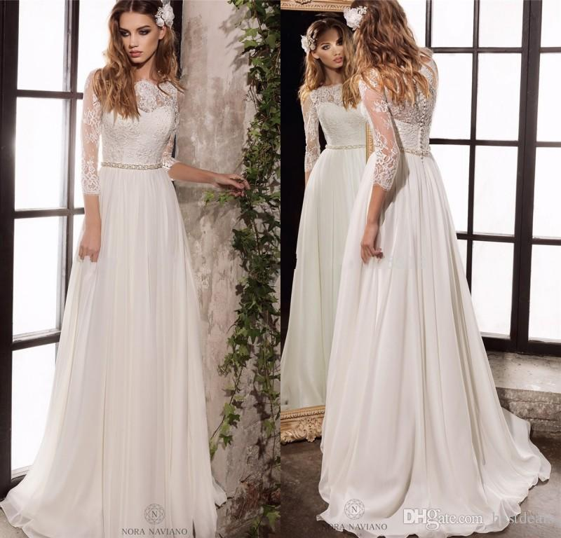 Simple Wedding Dresses For An Elegant Wedding