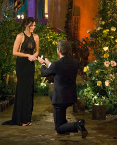Becca and Arie Luyendyk Jr. on 'The Bachelor'