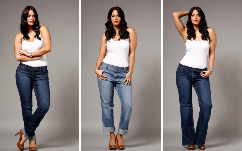 curvy women jeans