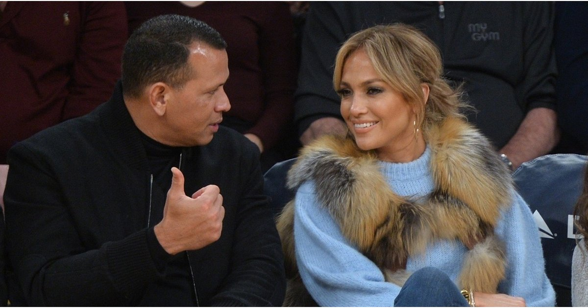 Jennifer Lopez Wearing Vest at Basketball Game