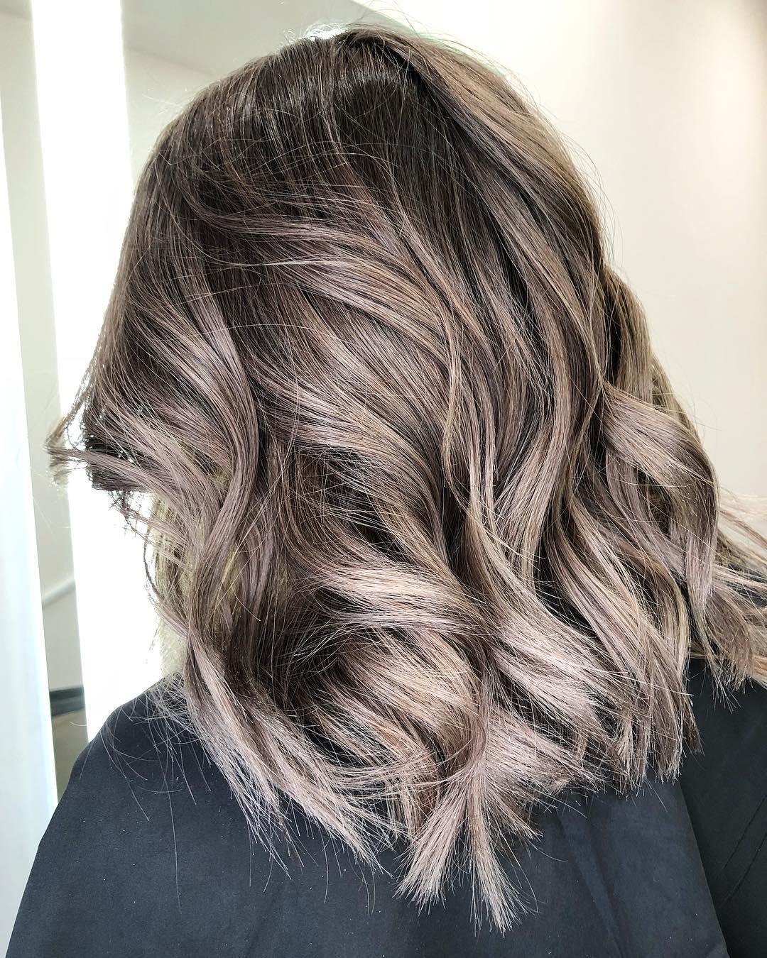 Balayage Hair Styles For Medium Length Hair Nicestyles