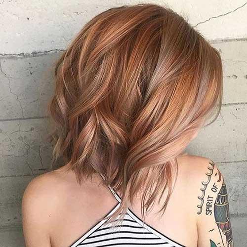 Short Hair Multi Color 2018