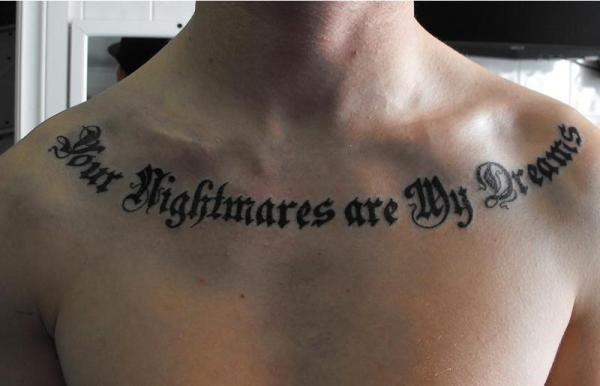 75 Unique Collar Bone Tattoos Nicestyles