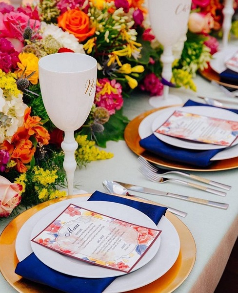 Awesome Spring Inspired Wedding Décor