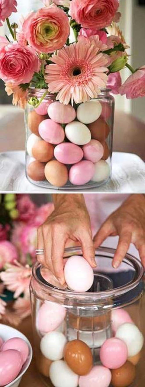 Eggs Incorporated In Spring Wedding