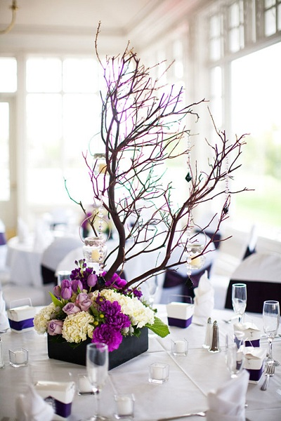Fashionable Touch To Wedding Décor
