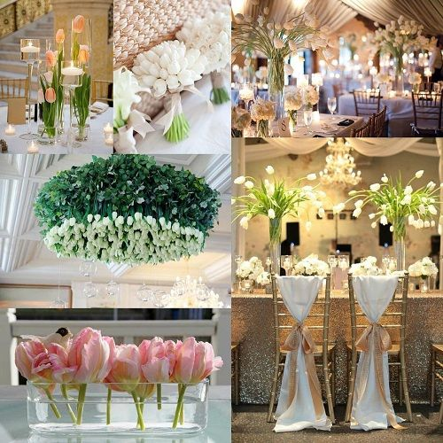 Tulips Fit For Spring Wedding Décor