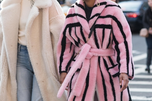 Some Fur Inspiration From Streets Of Fashion Month 2018