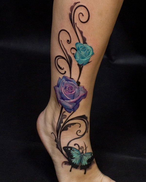 Tattoo For Woman On The Leg: 100+ Leg Tattoo Ideas For Men & Women