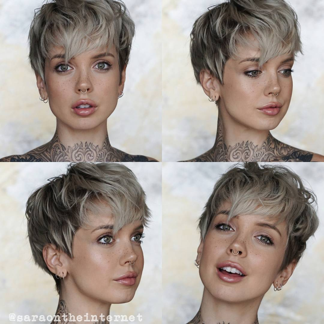 Daring Pixie Haircuts for Women, Short Hairstyle and Color - NiceStyles