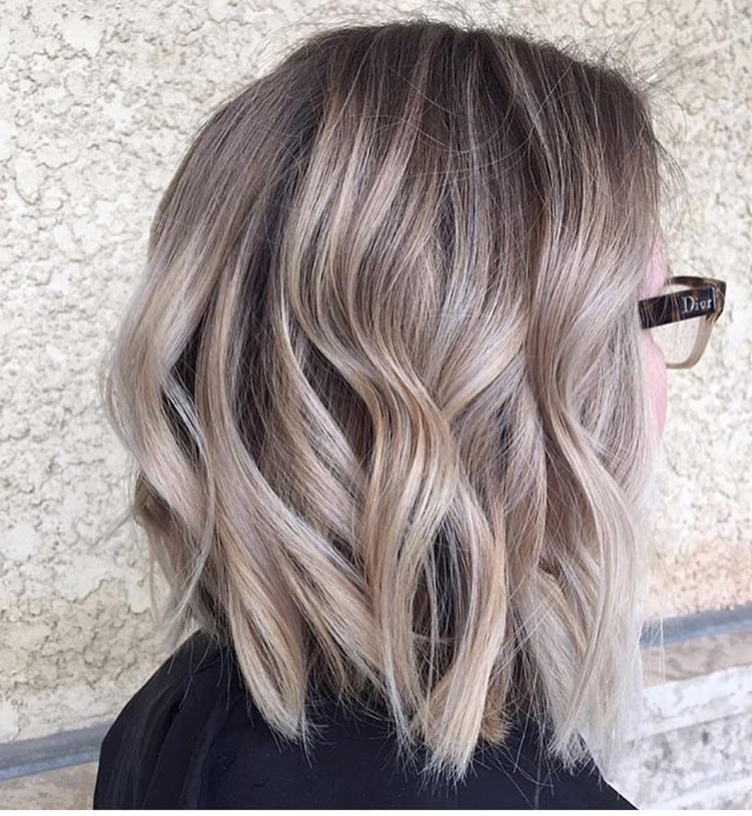 omber hair style balayage ombre hair styles for shoulder length hair 9810