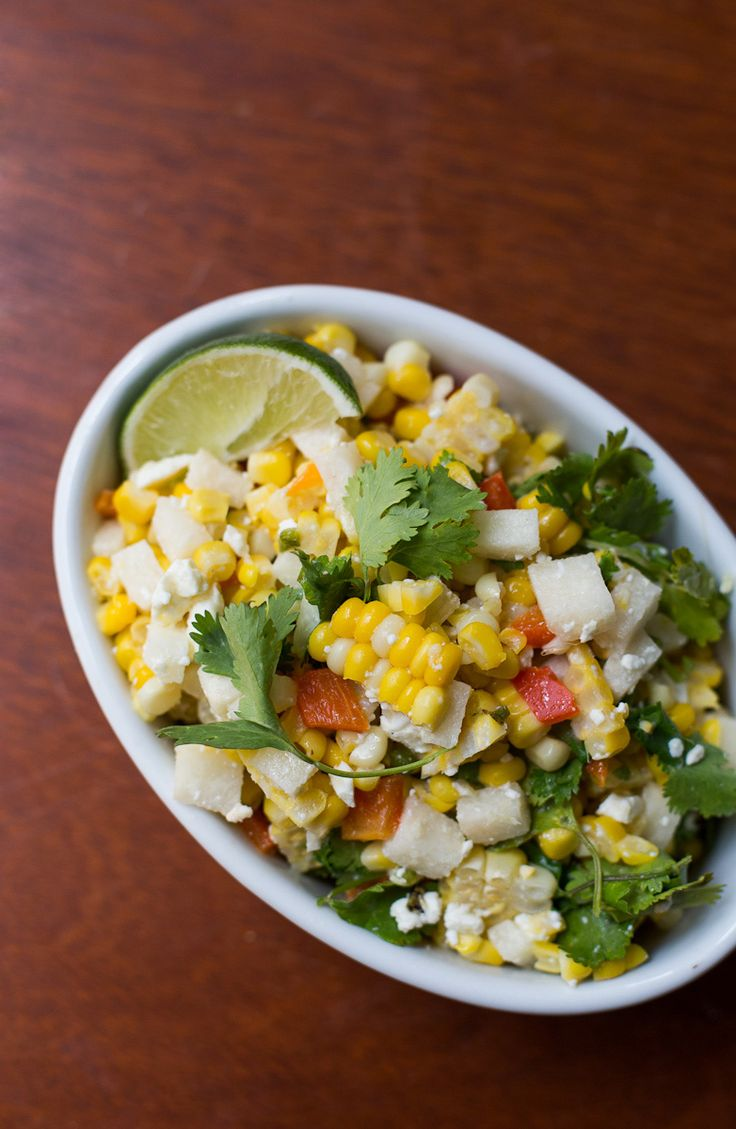 Roasted Corn and Cilantro Salad