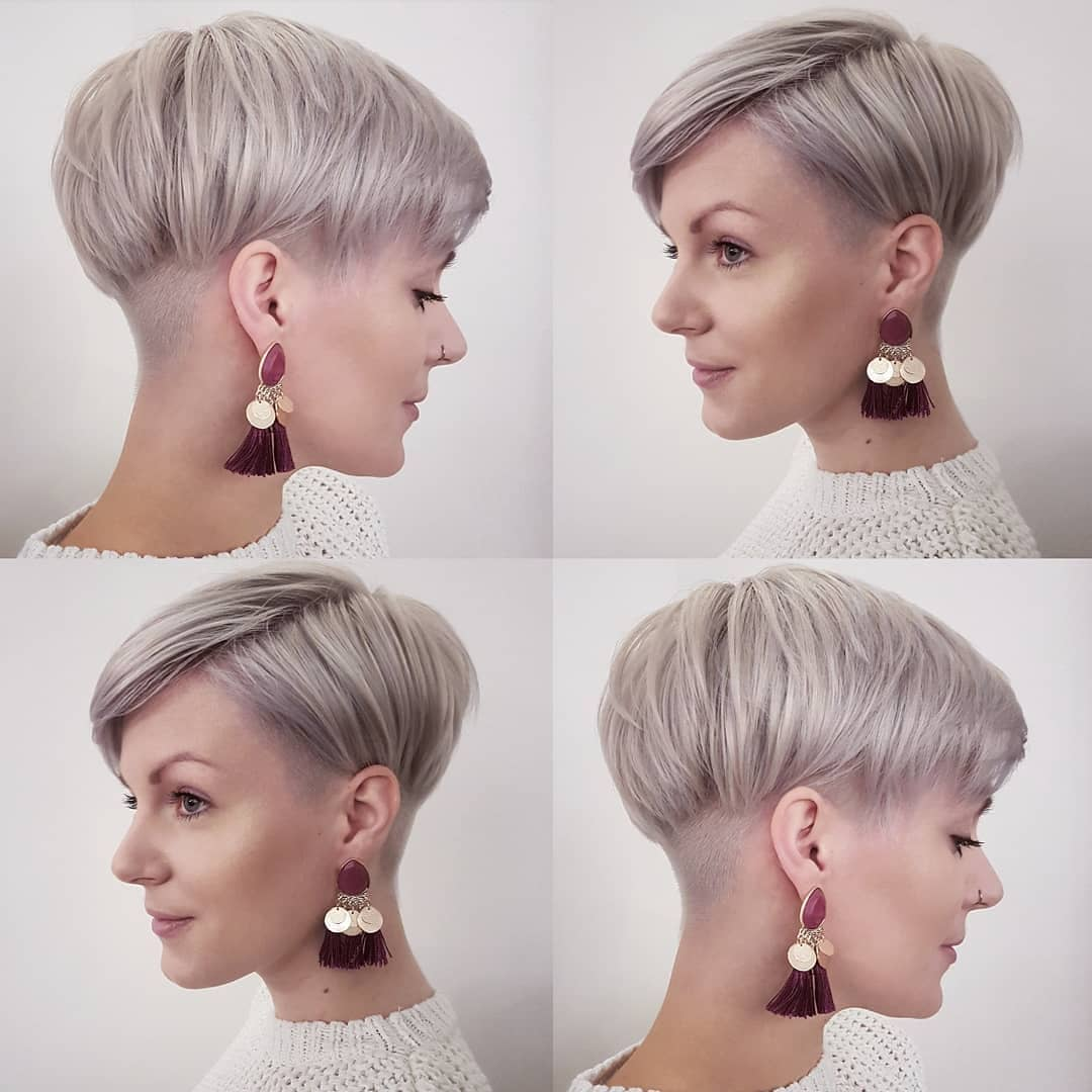Stylish Pixie Haircut for Women, Short Hairstyle and Color Ideas