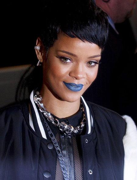 Cute Hairtyle, Rihanna Short Women Stars