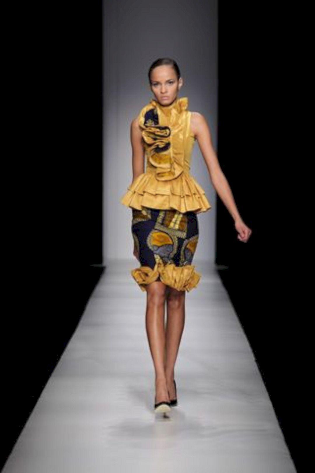 Women African Fashion Dresses Ideas