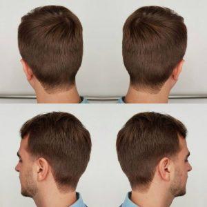 Squared Neckline - Taper Haircut Trends
