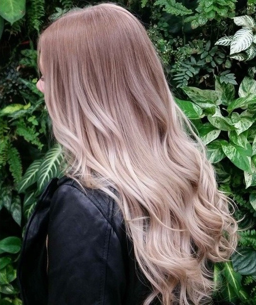Butterscotch Blonde: Ombre Hairstyles for Long Hair