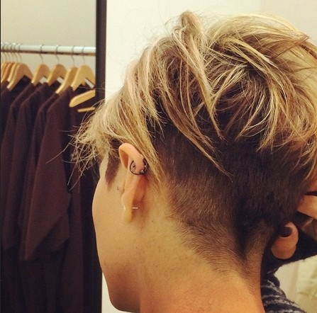 Chic Short Haircuts Back View