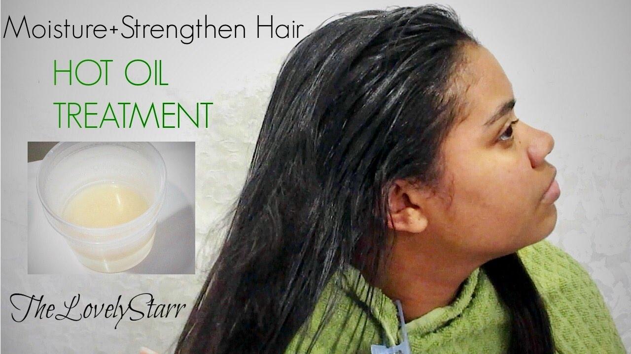 Hot Oil Treatment for Straight Hair